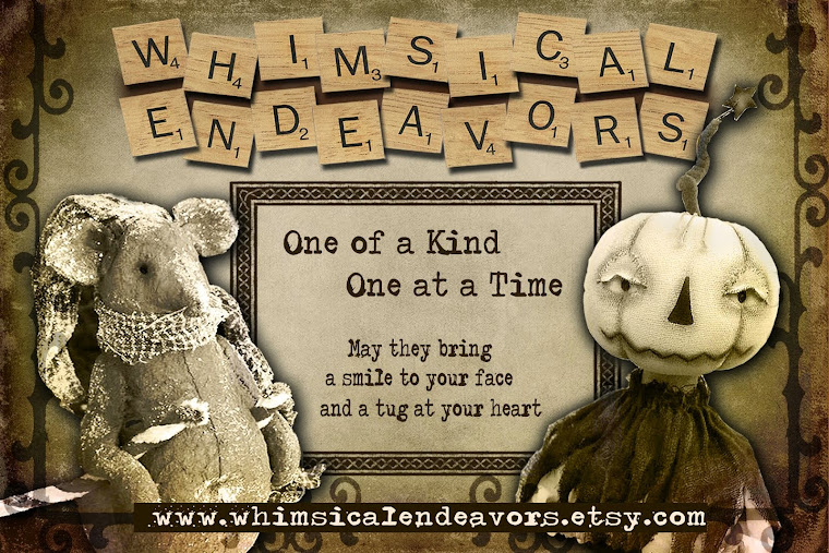 Whimsical Endeavors~ One of a Kind, One at a time