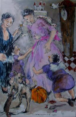 RICARDO PAULA exposición de pintura portuguesa en Lisboa