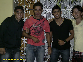 JORGE SOUZA. LEANDRO SANTOS, RONY E TIQUINHO