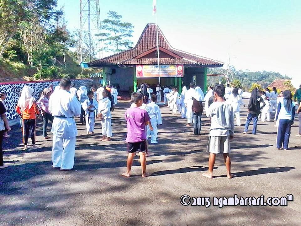 LATIHAN PERDANA DAN PEMBUKAAN INSTITUT KARATE-DO INDONESIA (INKAI) RANTING KARANGTENGAH