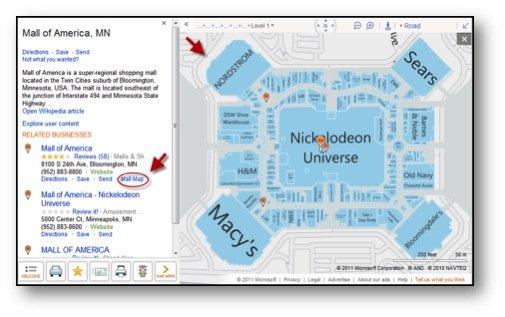 Tysons Galleria Map