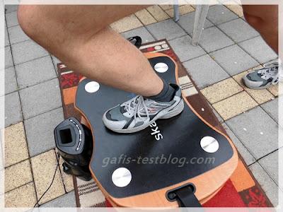 Skandika- Home Vibration Plate 300 - Übung Ausfallschritt