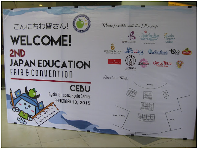 2nd Japan Education Fair and Convention Cebu | www.thecollegecandy.com