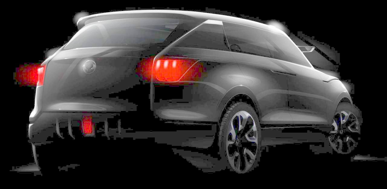 2011 ssangyong concept xuv - photo #21