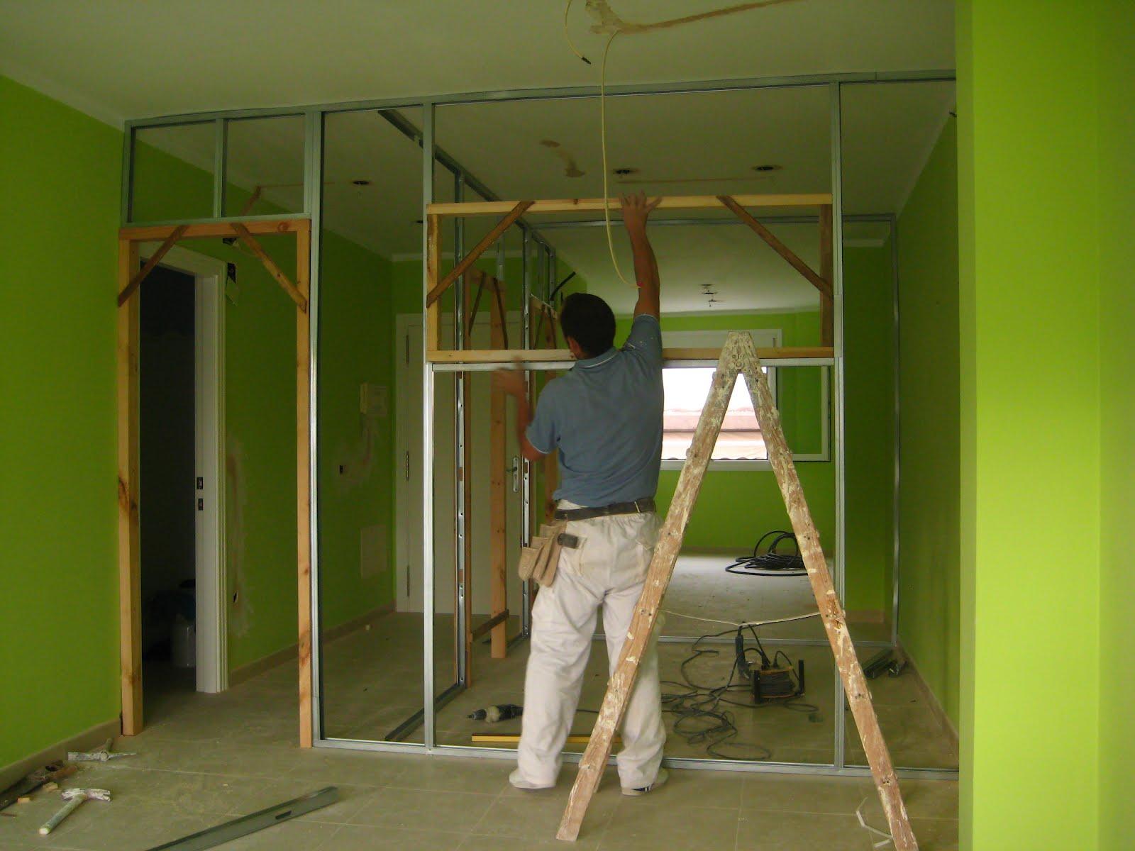Come costruire una parete divisoria in legno muro di - Costruire una parete divisoria ...