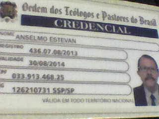 EU SOU CREDENCIADO A: OTPB!