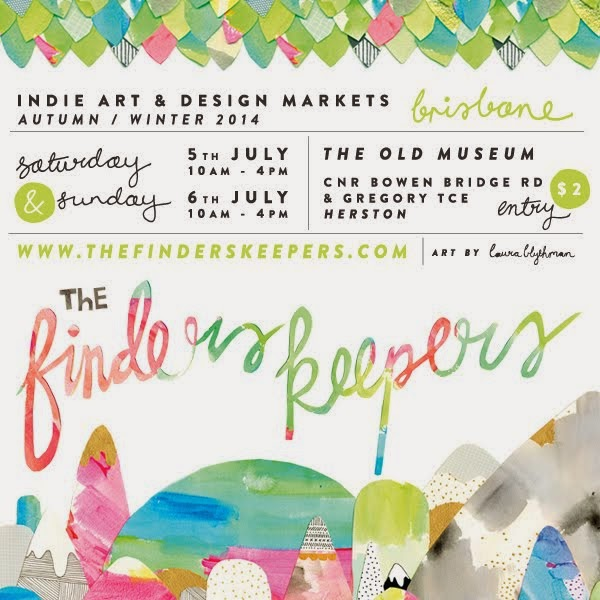 KUBERSTORE will be at the next Brisbane Finders Keepers Market... YAY!