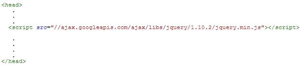 Código Jquery en nuestro Blog
