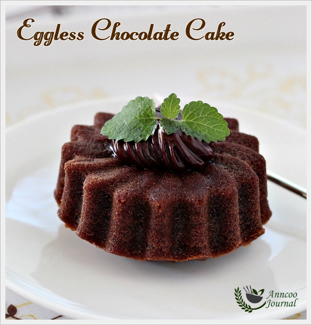 Images Of Eggless Chocolate Cake : Eggless Chocolate Cake - Anncoo Journal