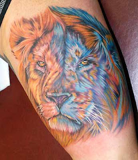 Lion Tattoo design photo gallery - Lion Tattoo ideas