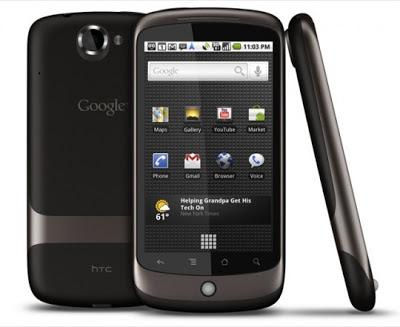 Nexus One ponsel anyar buatan Google