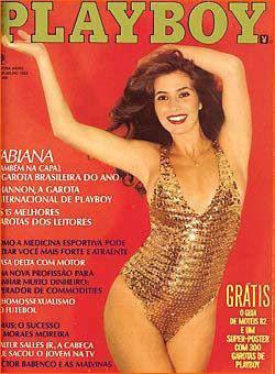 Confira as fotos da Garota da Playboy, Fabiana Gomes, capa da Playboy de julho de 1982!