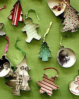 Enfeite de árvore de Natal - cortador de biscoito