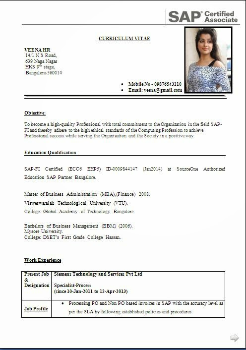 Download Resumes Formats Cvresume Download Resume Format Cv