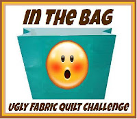 In the Bag - Ugly Fabric Quilt Challenge 2012