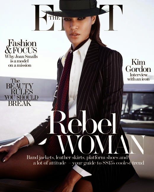Supermodel: Joan Smalls - The Edit February 2015
