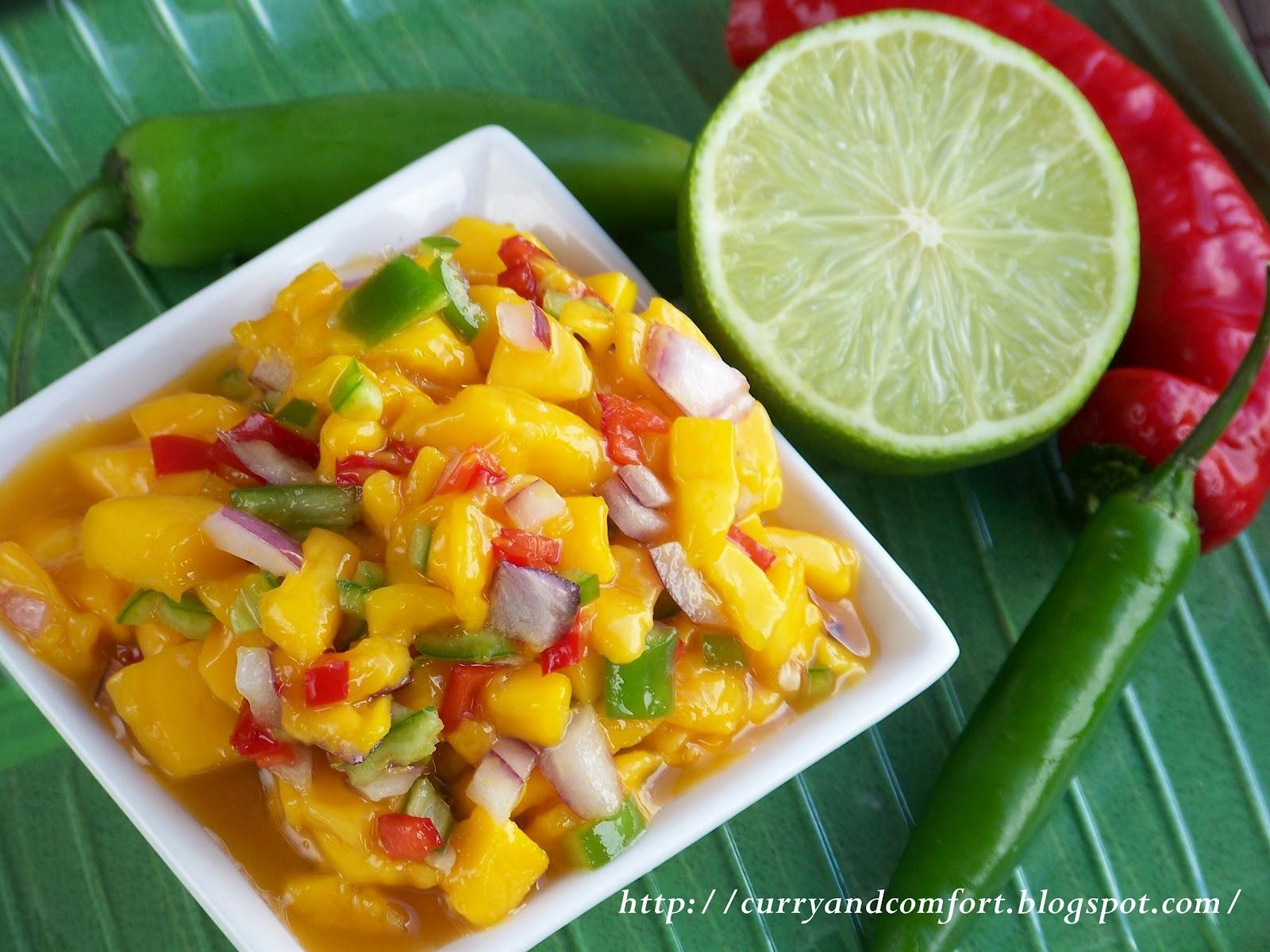Kitchen Simmer: Masala Shrimp Cocktail with Mango Salsa