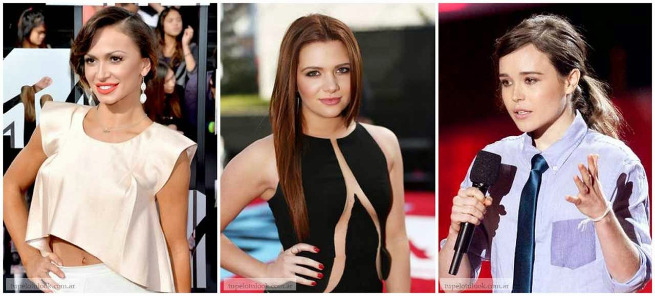 peinados 2014 look MTV Movie Awards