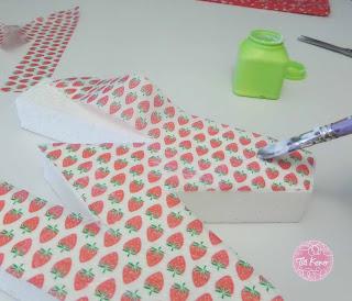 manualidades con niños decorar letra