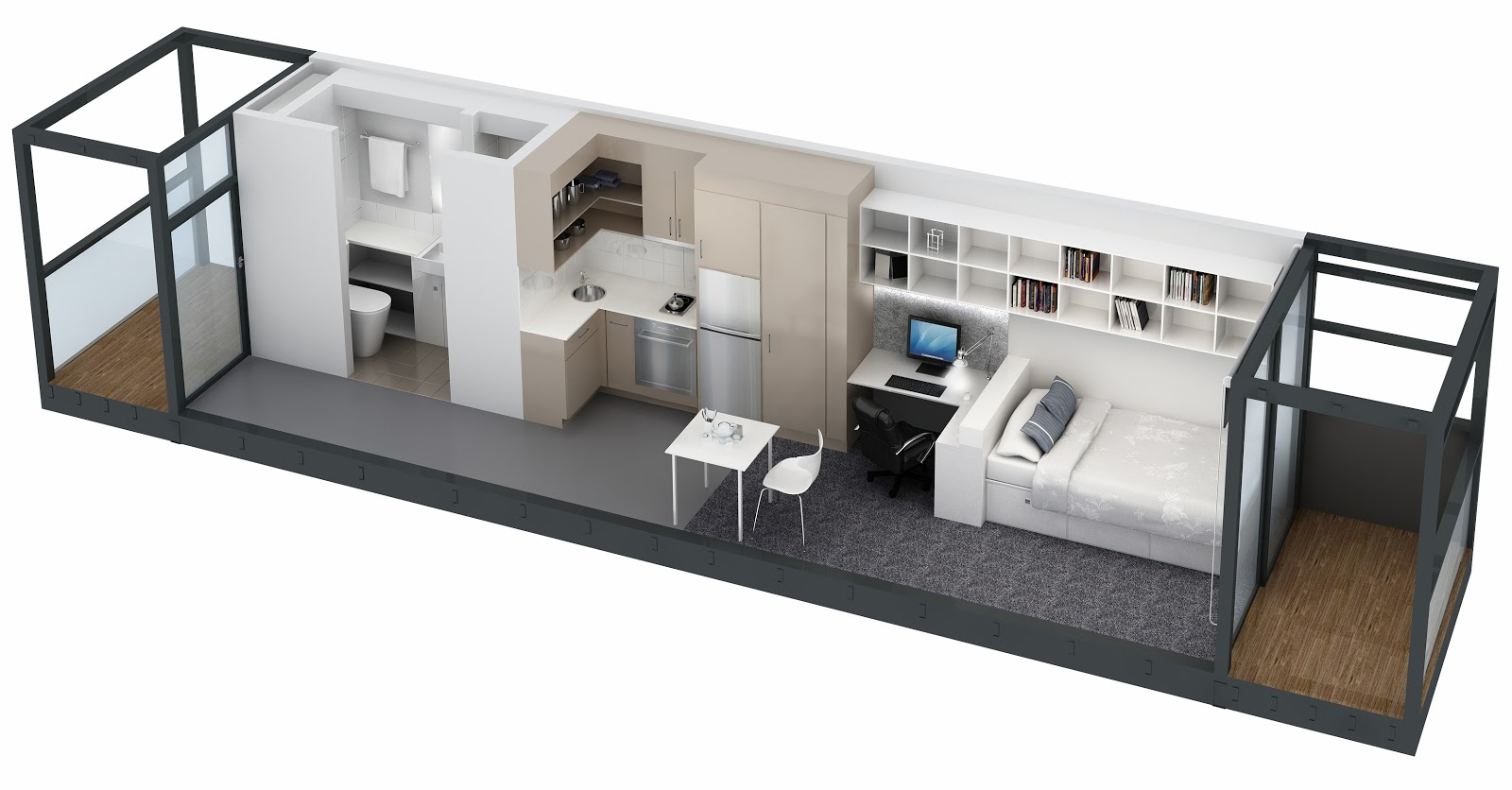 ... Studio Apartment Floor Plan  Joy Studio Design Gallery - Best Design