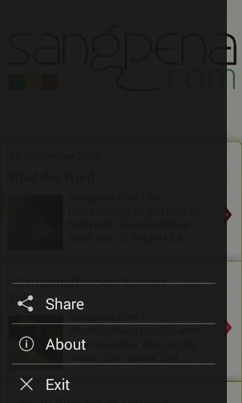 sangpena.com versi Android