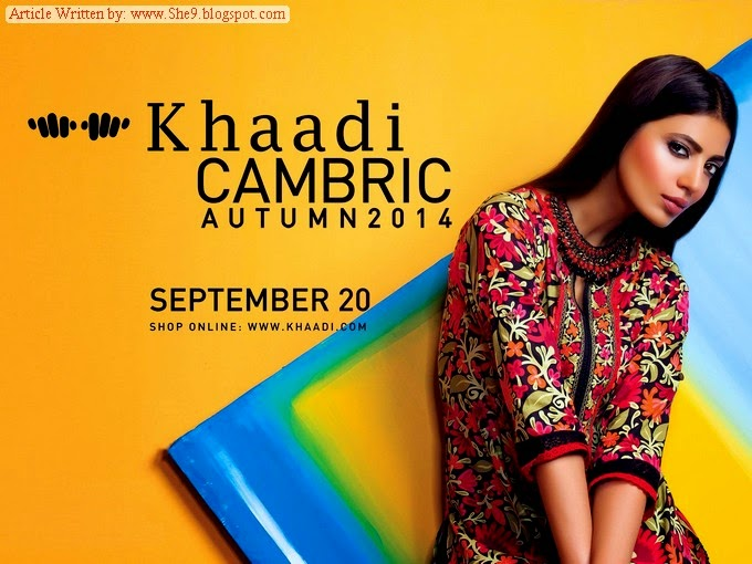Khaadi Cambric Autumn 2014