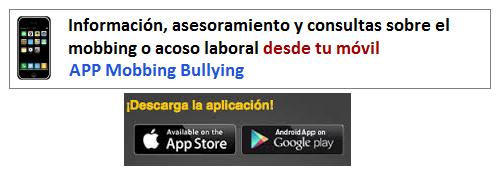 Puedes informarte, asesorarte y consultar sobre #mobbing desde tu móvil