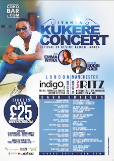 IYANYA KUKERE CONCERT! LONDON &amp; MANCHESTER!