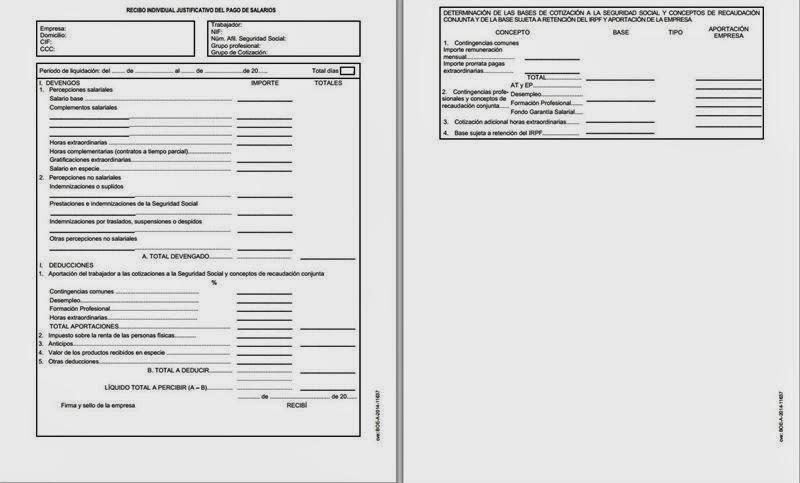 Asesor A Laboral Barcelona Cambios En Las Nominas