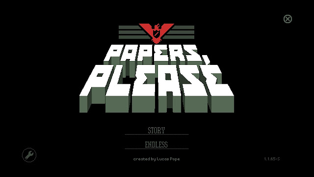 Some thoughts on... Papers, Please