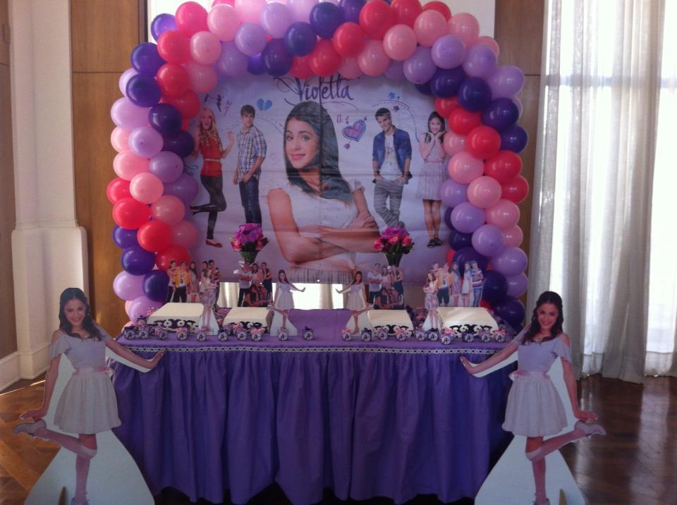 decoracao festa violeta:Lu Felisbino Festas Afetivas: Festas da Violetta