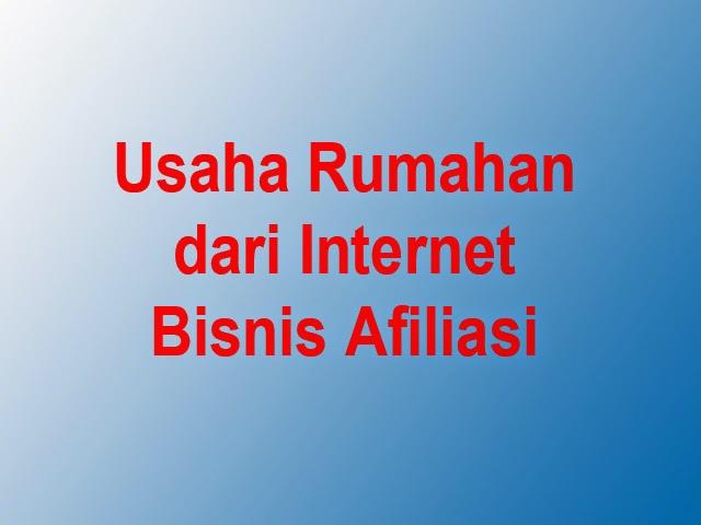Usaha rumahan internet
