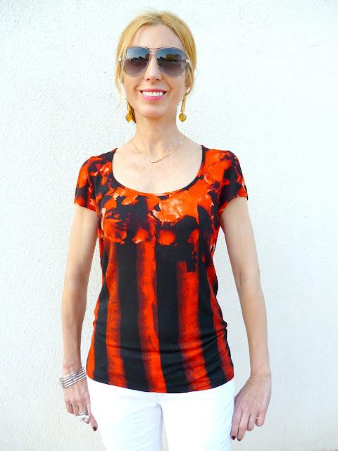 imagen camiseta estampada de Isabel de Pedro