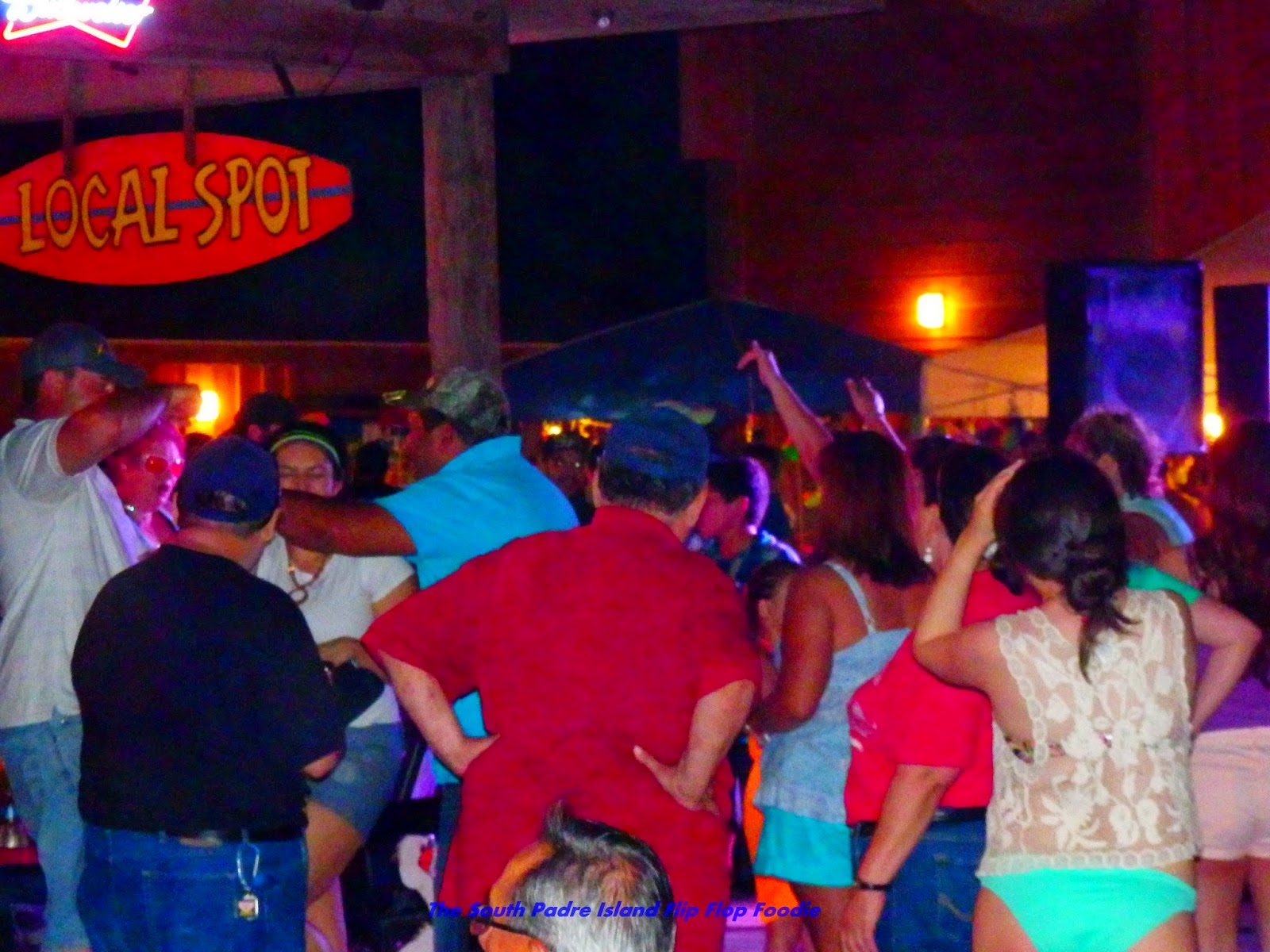 the south padre island flip flop foodie clayton u0027s beach bar and