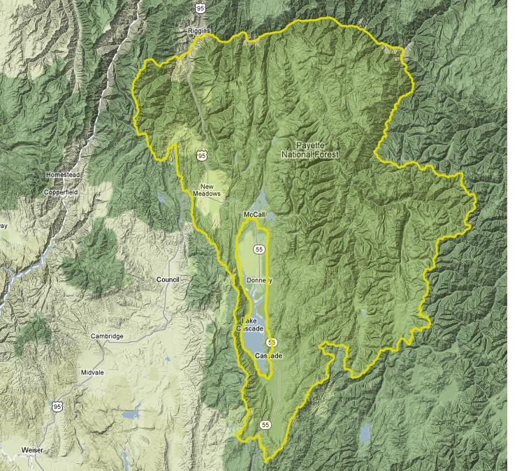 Idaho Elk Zone Map Pictures To Pin On Pinterest  PinsDaddy