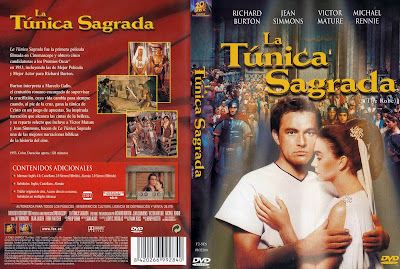 La túnica sagrada  | 1953 | The Robe | Cover | Caratula Dvd