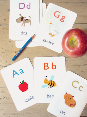 http://www.mrprintables.com/alphabet-flash-cards.html