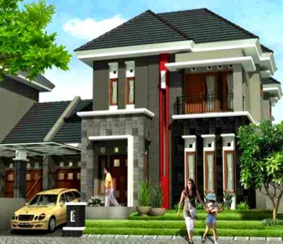 model rumah minimalis 2 lantai terbaru design rumah