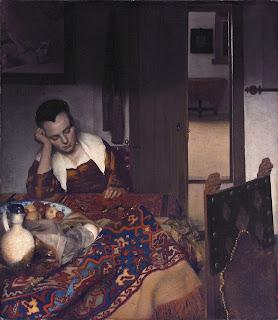 Johannes Vermeer, Muchacha dormida