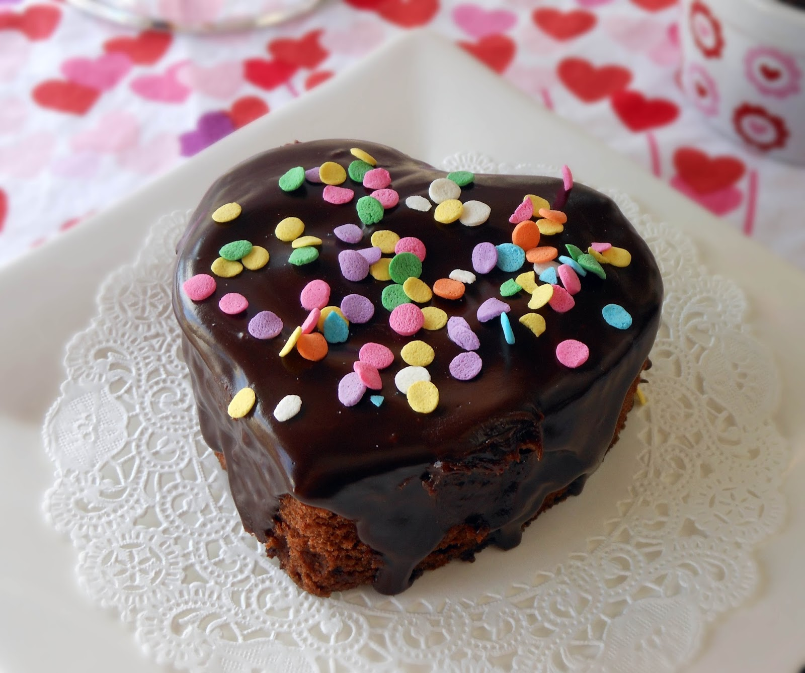 My Cookie Clinic Mini Chocolate Heart Cakes Convection Bake