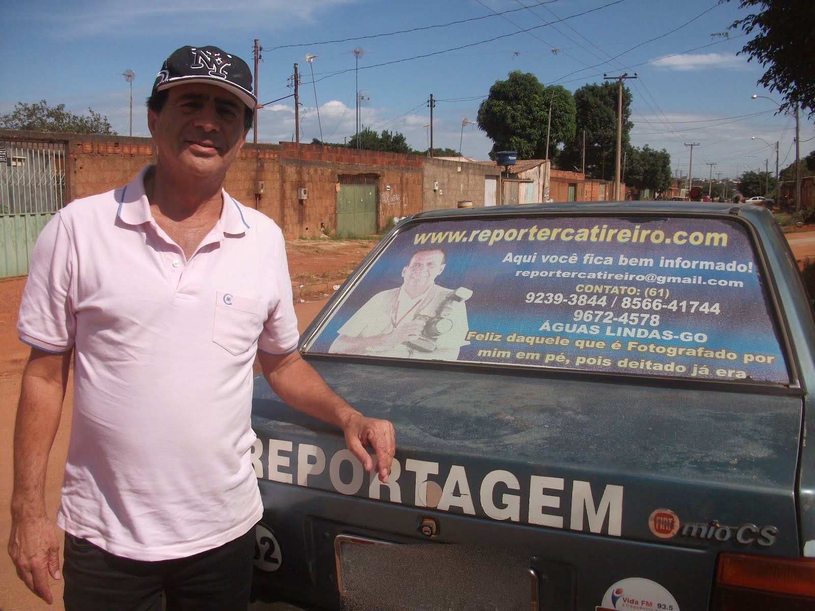 Zezito Moura mais  um parceiro e apoiador do programa  show do Catireiro.