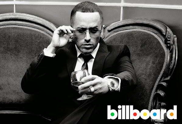 Yandel De Lider a Leyenda Billboard magazine 2014 Realeza Urbana Magazine