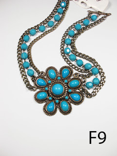 kalung aksesoris wanita f9