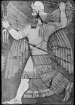 This is Enlil Ea's brother and the god of air and wind.