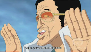 kizaru vs benn beckman one piece red haired pirates Bekkuman