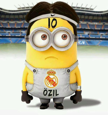 Minion Ozil - Futbol Parodia
