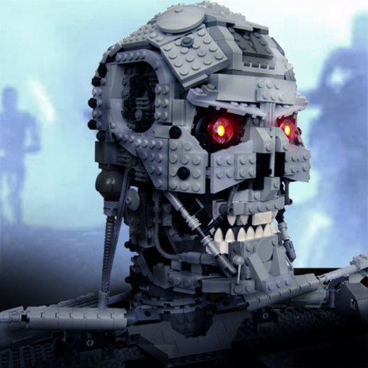 Terminator made from legos por ShadowThePerson