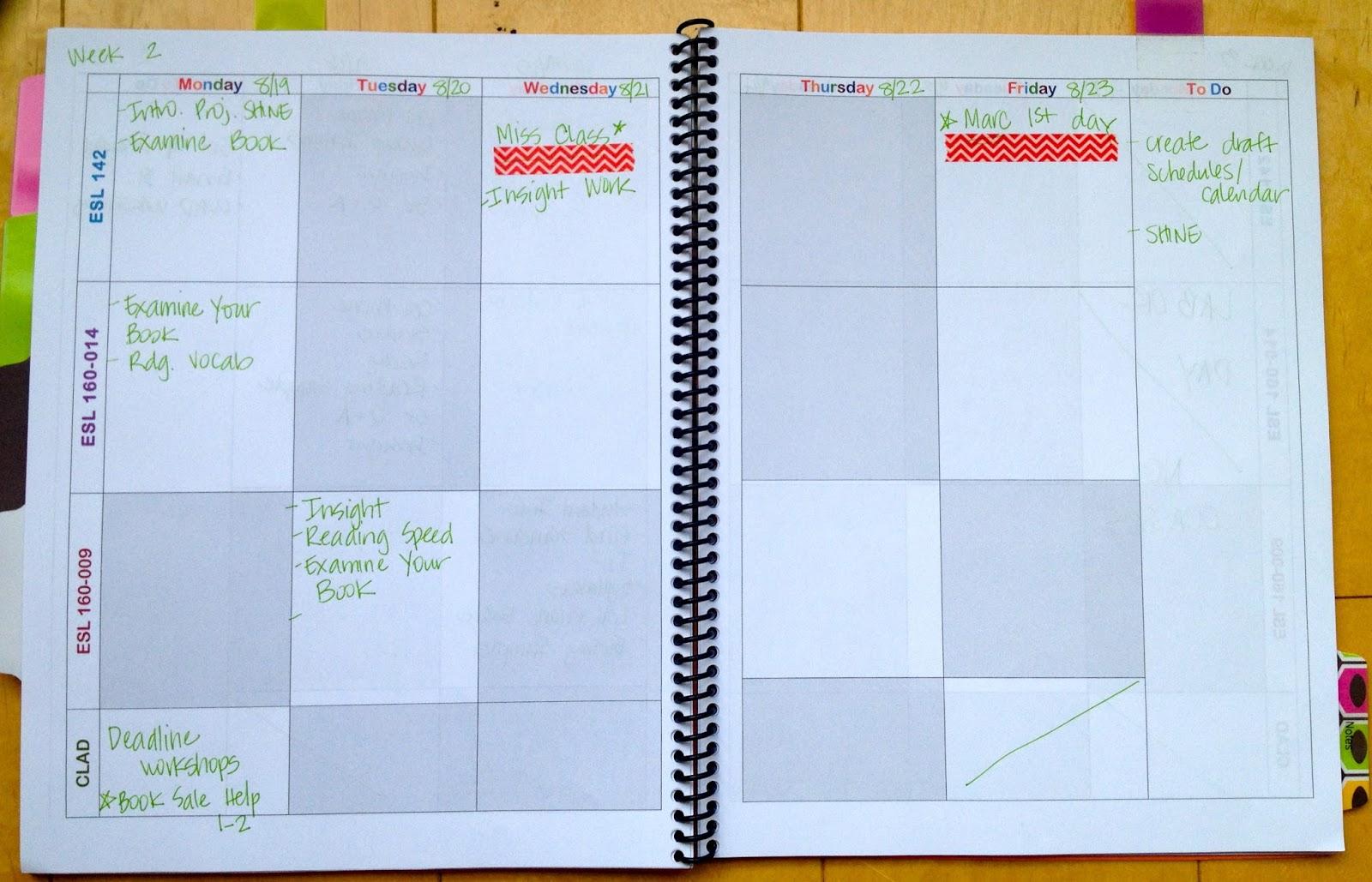 teacherfessions  diy lesson planner