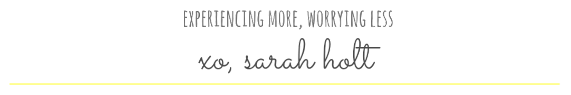 xo, Sarah Holt | Vegan Lifestyle Blog
