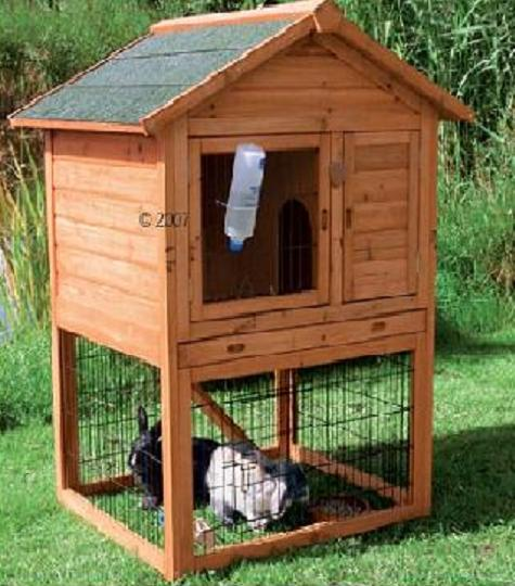 Hd animals rabbit cages for Awesome rabbit hutches
